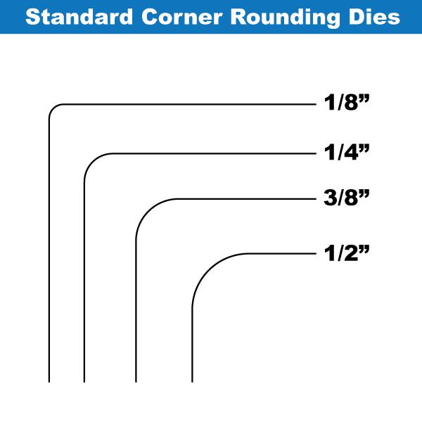 Lassco Wizer Cr 50b Heavy Duty Tabletop Manual Corner Rounder