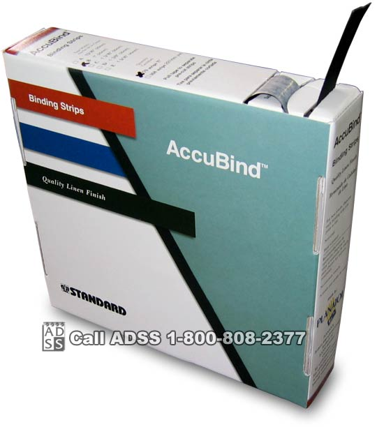 F x 11 Tape Bind Strips for Accubind