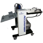 "Accunumber Air Touch 18"" Numbering, Perforating, and Scoring Machine"