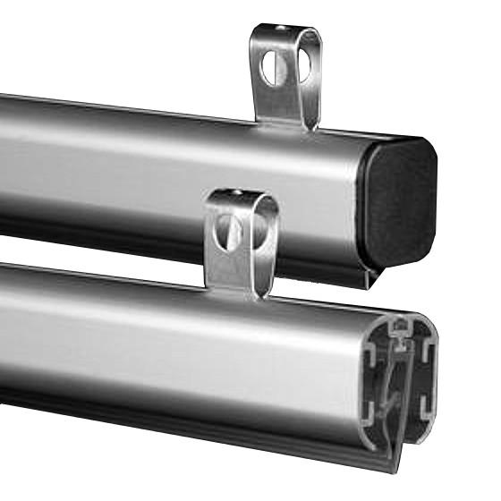 Aluminum Snap Rail Hanging Rails