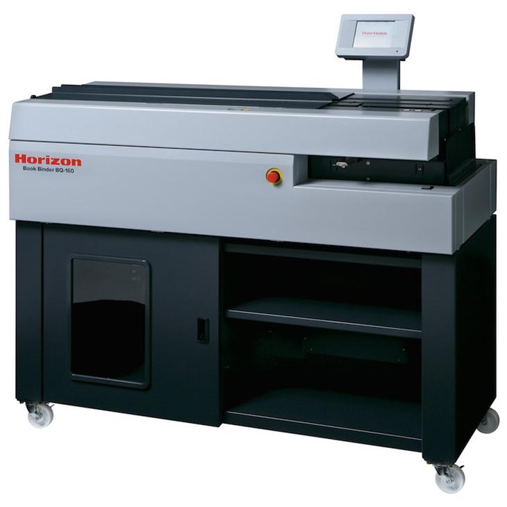 Standard Horizon Bq 160 Pur Single Clamp Perfect Binder: Horizon BQ-160 PUR Perfect Binder, Perfect Binding