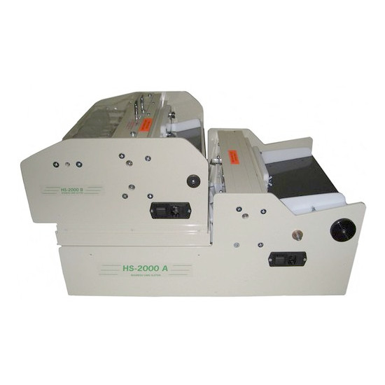 HS-2000 A-B Business Card Slitter