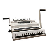 Multi–Finisher 3-in-1 Binding Machine for Comb, Coil & Wire