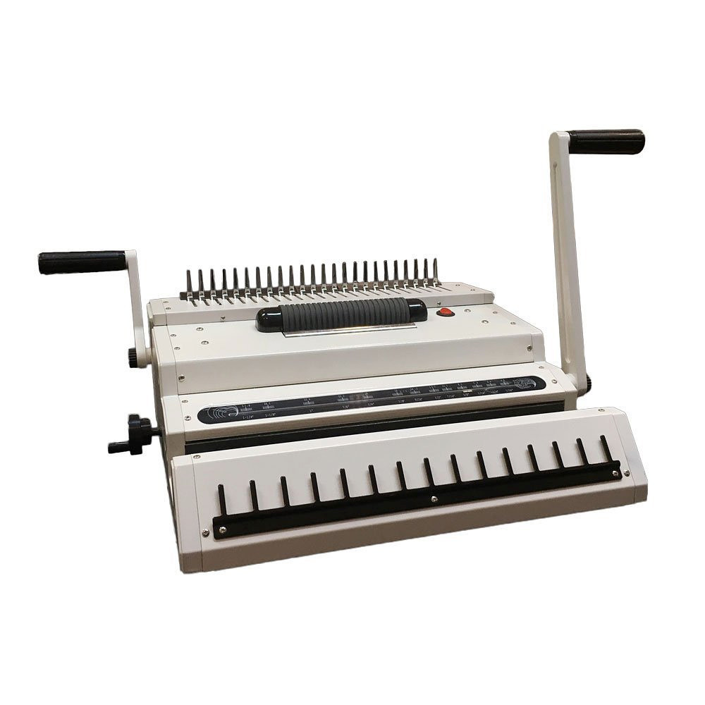 Multi–Finisher 3-in-1 Binding Machine For Comb, Coil