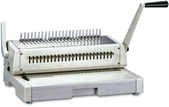 Book Binding Types further Watch further Hieronymus machine 1 further Durabinder Plastic  b Binding Machines C22 30 P31 besides Booklets Binding. on spiral binding coil