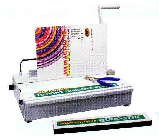 PBS Combo Spiral Plastic Coil Binding Machine