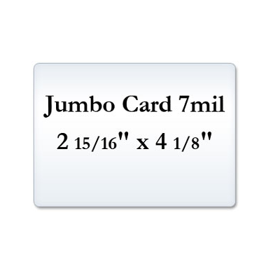 Jumbo Card 7 Mil Laminating Pouches