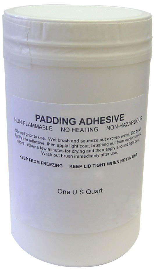 One Quart Padding Adhesive
