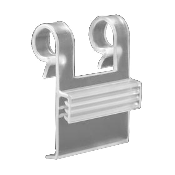 Finned Wire Basket Clip, Small Mounts and Fasteners